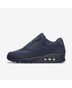 new products 2f83e 5559b Nike Air Max 90 Essential Midnight Navy Black University Gold Midnight Navy  537384 412 Outlet UK
