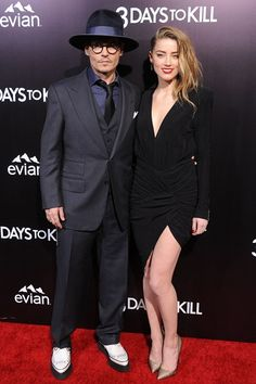 Johnny Depp and Amber Heard - best dressed