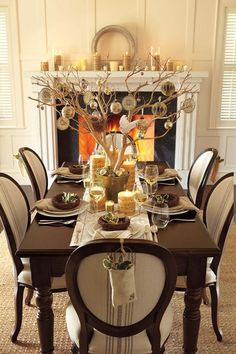 christmas centerpieces | Christmas centerpiece ideas and other tips for decorating the holiday ...