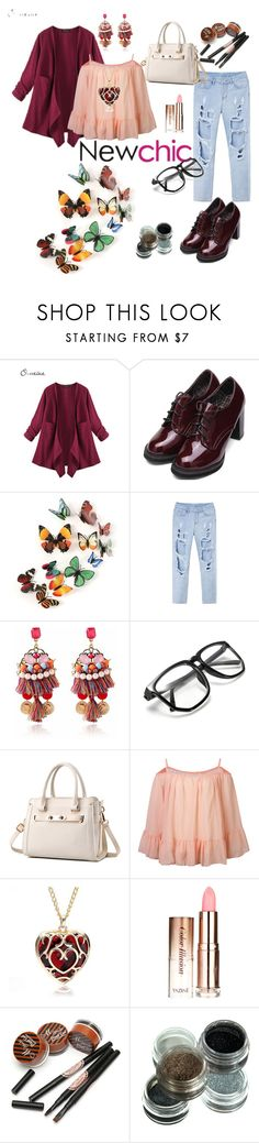 """#newchic #"" by aazraa ❤ liked on Polyvore featuring chic, New and newchic"