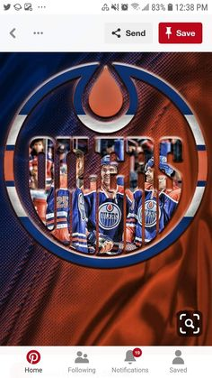 Nhl Wallpaper, Hockey Room, Connor Mcdavid, Canadian Things, Hockey Season, Sports Team Logos, Colorado Avalanche, Edmonton Oilers, National Hockey League