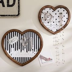 Cute way to create a pin board other than the generic square shape!