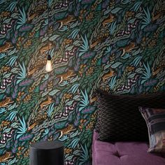 Luxurious modern wallpaper by Scandinavian design company, FEATHR, is now available at The Pattern Collective Deep Wallpaper, Luxury Wallpaper, Modern Wallpaper, Animal Wallpaper, Wall Wallpaper, Designer Wallpaper, Interior Design Wallpaper, Amazing Wallpaper, Bedroom Wallpaper