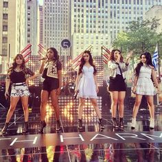 Fifth Harmony on the today show ((if you don't love these girls, you're doing it wrong))
