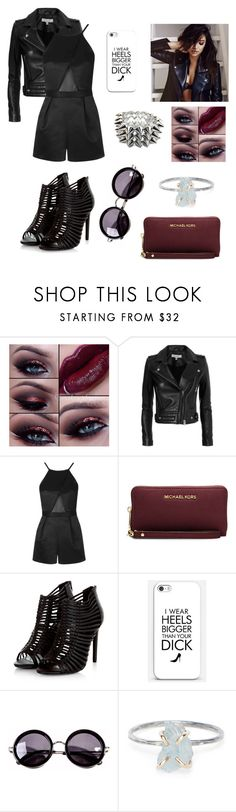 """Maya - Casual"" by gracielovesyou01 ❤ liked on Polyvore featuring IRO, Topshop, MICHAEL Michael Kors, Linda Farrow, Rebecca Taylor and Fantasy Jewelry Box"
