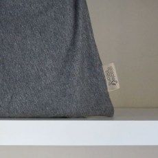 Dark Grey baby wearing wrap Baby Wearing & Breastfeeding Covers Giggle and Beans Baby Wearing Wrap, Breastfeeding Cover, Dark Grey, How To Wear