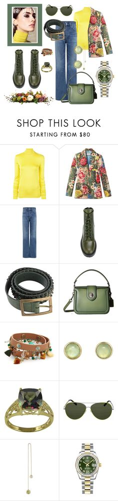 """Hello Fall"" by kelli-bailey-ouimet ❤ liked on Polyvore featuring Cédric Charlier, Gucci, ZAC Zac Posen, Kenzo, Zadig & Voltaire, Coach, Tory Burch, Melissa Joy Manning, PearLustre by Imperial and Valentino"
