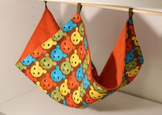 Hanging Ferret Hammock Rat Cage Accessories by SewingInCZ on Etsy