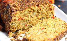 So many vegetables are packed into this nutrient-dense vegetable loaf.
