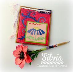 Silvia Scrap: Reto 69 Latinas Arts & Crafts. Los colores de Hilda