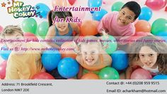 Childrens Party Entertainer In London Mr Hokey Cokey Is A Well - Childrens birthday party entertainers london