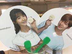 #Innisfree | #China | #GIFTS | on 08 May 2016 (Sunday) | #MothersDay | Hand Fan | #Brand #Endorser | #ActorLeeMinHo | #LeeMinHo #Korean #Actor  #HallyuStar | #ASIA Most Popular #IDOL (Source:  Weibo : takahi  |  03 April 2016 |  THIS Pos : 09 May 2016 (Monday)