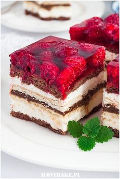 No Bake Desserts, Delicious Desserts, Yummy Food, Polish Recipes, I Foods, Cake Recipes, Sweet Tooth, Cheesecake, Food Porn