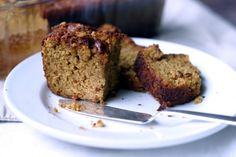 Pumpkin Bread (almost cake) Dairy-free, Gluten-free, Lactose-free, SCD (Specific Carbohydrate Diet), Vegetarian, Wheat-free