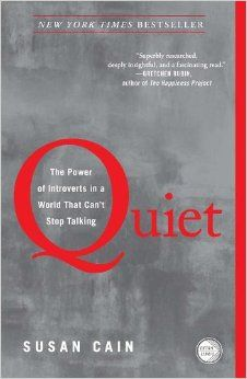 "New post about our discussion on March 18th of Susan Cain's ""Quiet"""