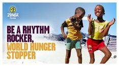 Copy by @Allyson Martin   Let's give the world a reason to dance.   Join The Great Calorie Drive™ (#ZumbaGCD) to help end world hunger.