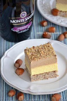 daktyle w czekoladzie: Ciasto Monte