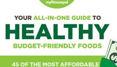 Contrary to popular belief, eating well doesn't have to break the bank. There are plenty of nutritious, budget-friendly foods in the supermarket, but with so many options and prices to compare, fin… Keeping Healthy, Healthy Eating Tips, Healthy Habits, Get Healthy, Healthy Food, Nutrition Tips, Fitness Nutrition, My Fitness Pal, Healthy Shopping