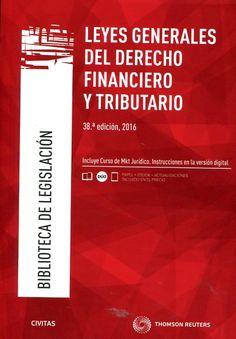 Leyes generales del derecho financiero y tributario