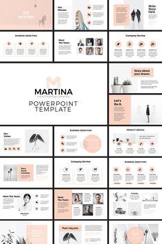 Modèle de présentation PowerPoint moderne | Etsy
