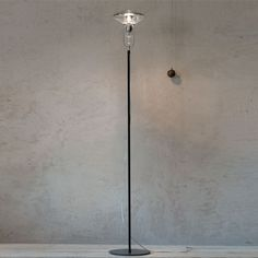 Made of transparent and transmirror blown borosilicate glass, Belle Soiree #floorlamp is #led ready. http://www.loftmodern.com/products/produzione-privata-belle-soiree-floor-lamp