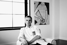 Find out What Raf Simons Plays at a Dinner Party