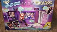 MGA Bratz Party Playset girlfriends nite out dance disco ..okay on a roll found at 6 am in morning...wanted this play set for years...nib