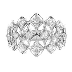 D Flawless Diamond Platinum Ring