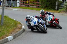 Michael Dunlop and William Dunlop road race