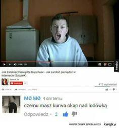 Okap Funny Sms, Haha Funny, Lol, Love Memes, Best Memes, Polish Memes, Quality Memes, Meme Lord, I Cant Even