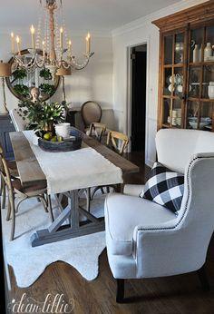 Birch Lane Dining Room Refresh by Dear Lillie
