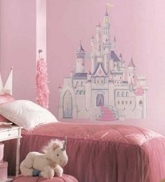 Princess castle wall decorating