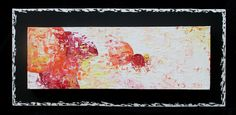"""""""Infime""""   Acrylique sur toile 20x40 - Made in Tahiti"""