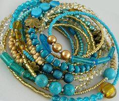 naszyjniki - korale-zamówienie Bangles, Beaded Bracelets, Jewelry, Fashion, Bracelets, Moda, Jewlery, Bijoux, Fashion Styles