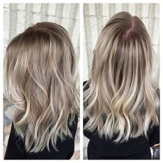 Pretty Ash Blonde hair!
