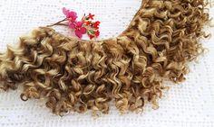 mohair weft Golden doll hair 157200 4-4.5 m