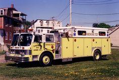 Schuylkill Haven, PA FD Rescue 27 1984 Hahn/Swab Heavy Rescue Squad.