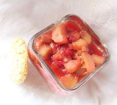 compote fraises rhubarbe  (3)