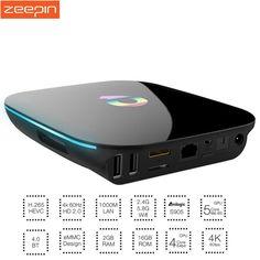 Q Box Android 5.1 TV BOX Amlogic S905 2GB RAM 16GB ROM Smart TV Box Dual Band WiFi BT4.0 Online update IPTV Q-BOX