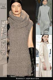 DiaryofaCreativeFanatic: Needlecrafts - Knit, Edgy Vests