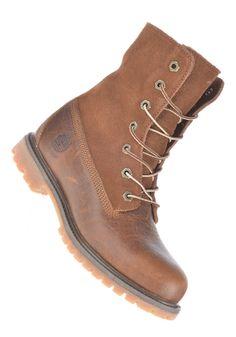 TIMBERLAND Womens Authentics Teddy Fleece Waterproof Fold Down Boot tobacco forty - gerade gekauft! Ich liebe ihn <3