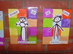 nos étiquettes de porte-manteau My Themes, Back To School, Kindergarten, Logos, Crafts, Images, Ms Gs, Album, Portrait