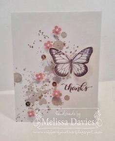 Stampin' Up! Best of Butterflies 25th Anniversary Exclusive stamp set by Melissa Davies @ rubberfunatics