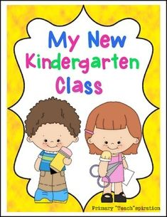 First Week Back to School Kindergarten Activity Book Distance Learning