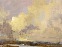 """Bethanne Kinsella Cople, """"Season of Mists and Mellow Fruitfulness"""" - 8x10, oil on canvas--at Principle Gallery"""