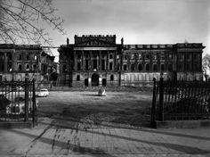 1958 Braunschweig - Zerstörtes Braunschweiger Schloß (Foto: Heinrich Heidersberger) ☺