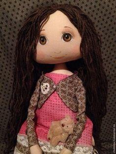 Купить Красавица - розовый, кукла ручной работы, авторская кукла, подарок девушке, подарок подруге