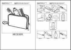 MATERIALES - ¿Qué hay dentro de ...? Fichas con pictogramas de objetos donde guardamos cosas (armario, joyero, caja de herramientas) y sus correspondientes pictos de los elementos que guardamos en cada uno de ellos. http://arasaac.org/materiales.php?id_material=732