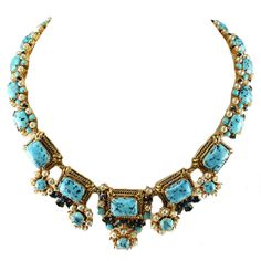 1STDIBS.COM Jewelry & Watches - Dior - 1964 Christian Dior Gold Toned Necklace - House of Lavande
