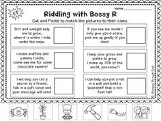 WORKING WITH BOSSY R: AN R-CONTROLLED VOWELS PRACTICE PACK - TeachersPayTeachers.com